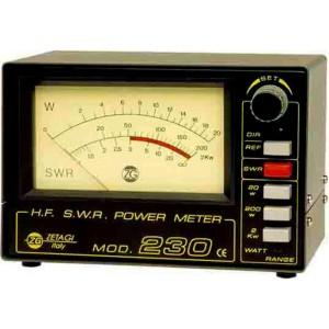 ZETAGI 230 Medidor de R.O.E. para HF y CB