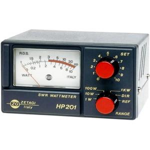 ZETAGI HP201 MEDIDOR R.O.E. y potencia CB 27MHz