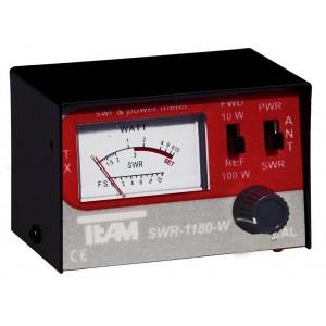 TEAM SWR-1180-W medidor R.O.E. para CB