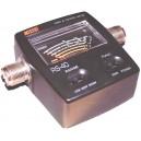 NISSEI RS-40 medidor R.O.E. y vatimetro para HF, VHF y UHF