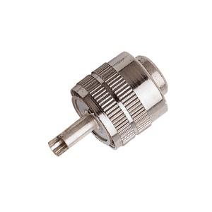 Conector PL corto 259C RG-58/Aircell-5 (baquelita)