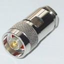 Conector N (M) corto 259C para RG-213 / RG-11 / RG-8