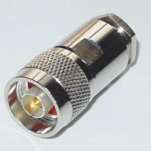 Conector N Macho para RG-213 / RG-11 / RG-8