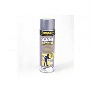 Spray de pintura galvanizado en frio superbrillante 500ml
