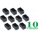 Filtro de Ferrita interior 6,5mm, largo 32,5mm (10 Unidades)