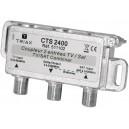 Mezclador/Separador SAT-TDT Triax CTS 2400