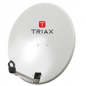 Antena parabólica off-set Triax TD 78 Individual de 80cm en acero galvanizado