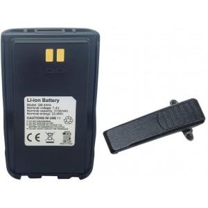 Bateria Anytone AT-D868UV 7,4V, 3100mA y clip de cinturón