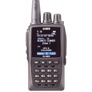 ALINCO DJ-MD5 Walkie doble banda DMR - FM 144/430MHz