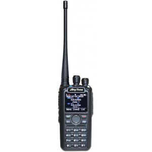 Anytone AT-D878UV Walkie digital DMR (roaming) y analógico FM/APRS 144/430MHz