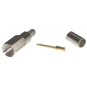 Conector FME macho para cable RG-58 (crimpar)
