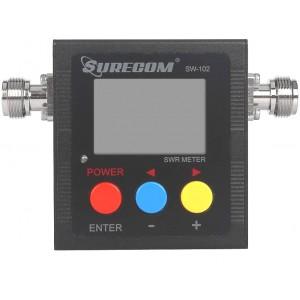 Medidor digital Surecom SW-102 125-525 MHz