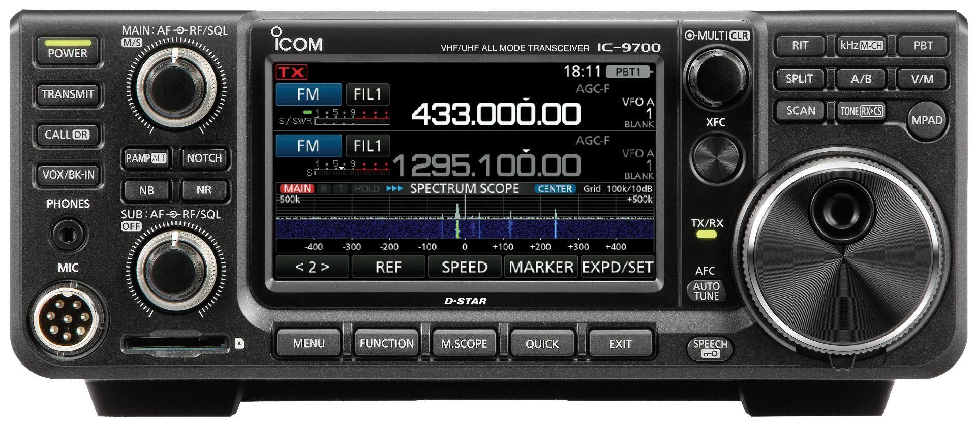 emisora para radioaficion todo modo 144MHz / 430MHz y 1200MHz